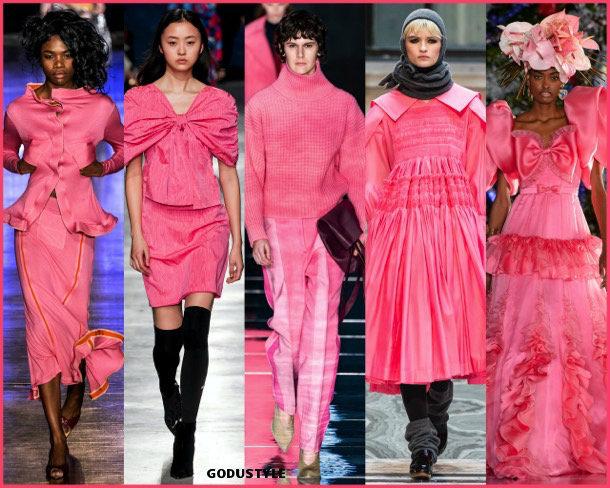fruit dove, fashion, color, fall 2019, winter 2020, trend, look, style, details, colores, moda, otoño 2019, invierno 2020, tendencias, pantone