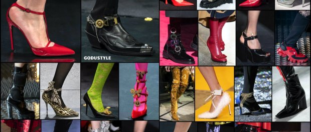 shoes, fall 2019, fashion, trends, zapatos, otoño 2019, tendencias, moda, cowboy boots, shearling shoes, ponty toe pumps, snake shoes, jewel shoes, sneakers, combat boots