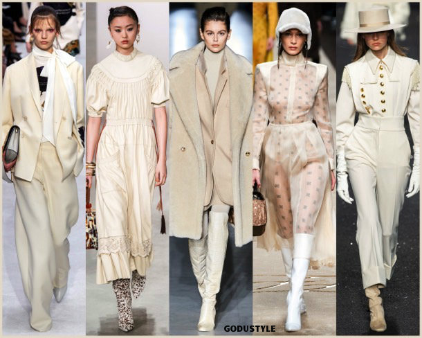 vanilla custard, fashion, color, fall 2019, winter 2020, trend, look, style, details, colores, moda, otoño 2019, invierno 2020, tendencias, pantone