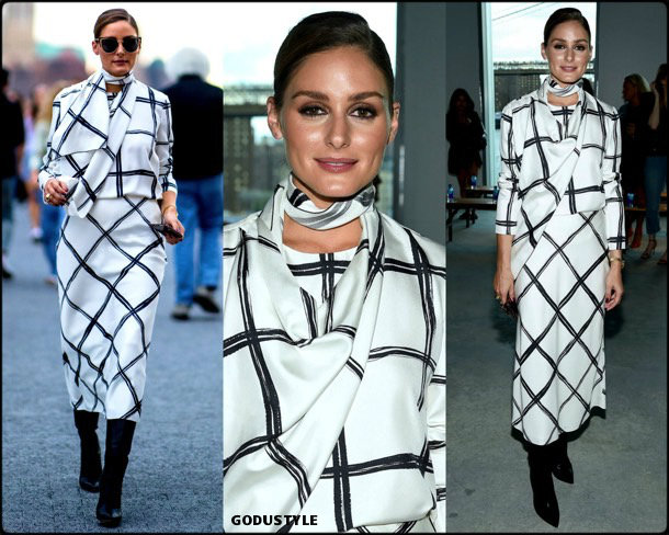 olivia palermo, nyfw, spring 2020, fashion shows, look, front row, streetstyle, style, details, shopping, jason wu, outfit