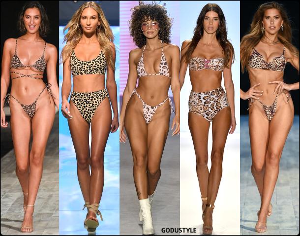 animal print, swimsuit, spring, 2020, swimwear, trend, look, style, details, miami swim week, moda, baño, bikini, bañador, tendencias, verano 2020, swim trends