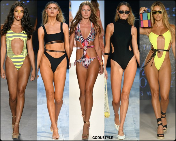 cut out, swimsuit, spring, 2020, swimwear, trend, look, style, details, miami swim week, moda, baño, bikini, bañador, tendencias, verano 2020, swim trends