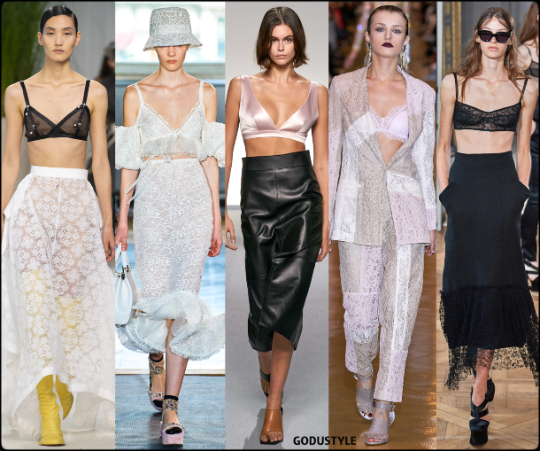 fashion, bra tops, spring 2020, trends, look, style, details, moda, tops, outfit, tendencias, verano 2020, design, diseño, runway, accessories
