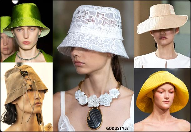 fashion, bucket hats, spring 2020, trends, look, style, details, moda, outfit, tendencias, verano 2020, design, diseño, sombrero, runway, accessories