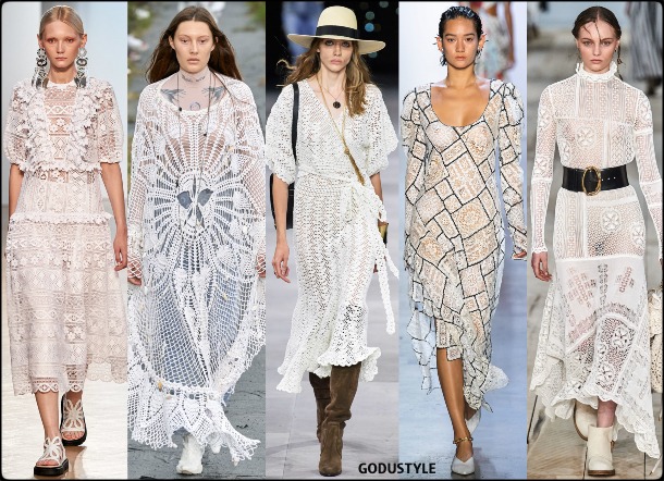 fashion, crochet, spring 2020, trends, look, style, details, moda, outfit, tendencias, verano 2020, design, diseño, runway, accessories