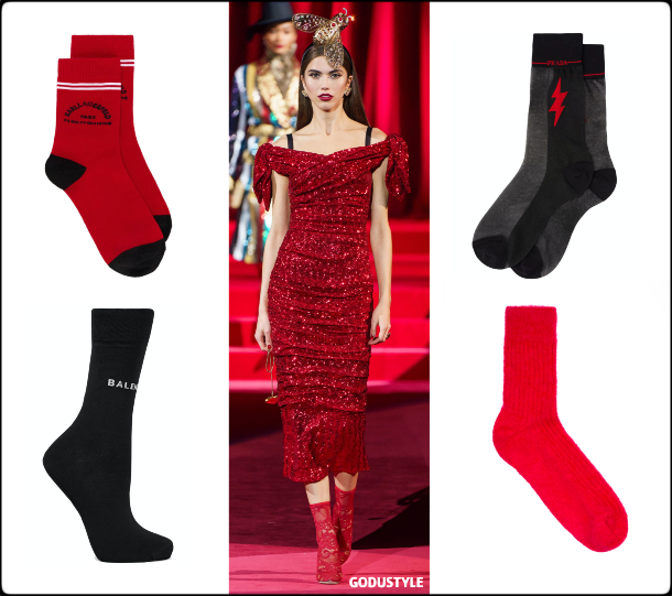 visible socks, socks, fall 2019, accessories, trends, shopping, look, style, details, accesorios, moda, invierno 2020, tendencias, calcetines
