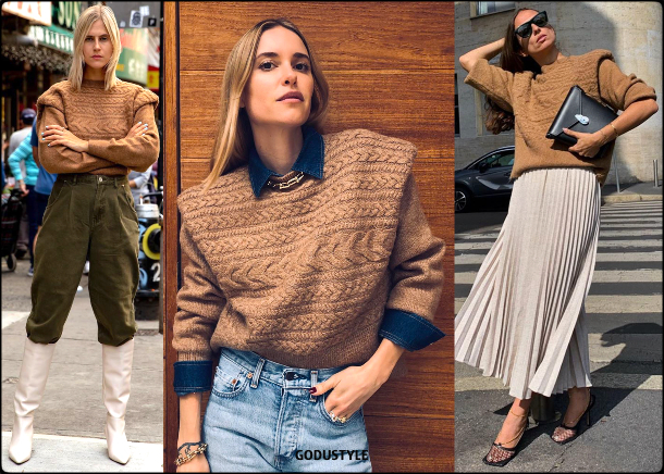 cable knit, sweater, fall, winter, 2019, 2020, trend, shopping, inspiration, look, style, details, knitted, runway, street style, moda, punto, tendencia, jersey