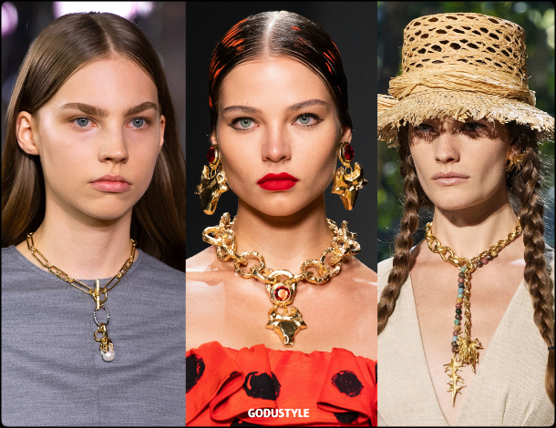chain, chokers, fashion, jewelry, spring, summer, 2020, trends, look, style, details, moda, joyas, primavera, verano, tendencias, gargantillas, collar