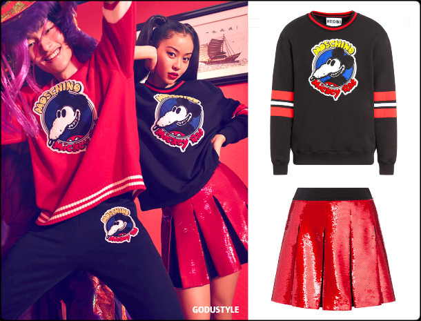 fashion, moschino, lunar, new, year, 2020, chinese, capsule collection, look, style, details, shopping, collection, colección cápsula, lunar new year, chinese new year, moda