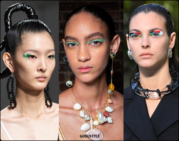 painterly shadows, fashion, makeup, spring, summer, 2020, trend, look, style, details, maquillaje, verano, 2020, tendencias, moda, belleza, beauty
