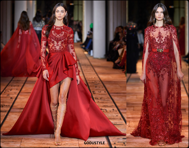 zuhair murad, couture, spring, summer, 2020, haute couture, fashion, look, style, details, accessories, jewelry, beauty, review, moda, alta costura, primavera, verano, repaso