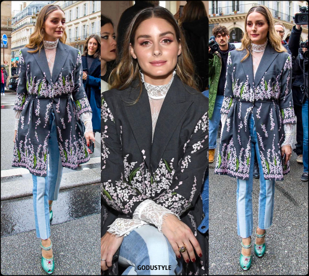 olivia palermo, giambattista valli, fashion, look, pfw, fall, winter, 2020, 2021, style, details, fashion show, street style, outfit, inspiration, moda, otoño, invierno