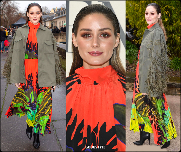 olivia palermo, valentino, fashion, look, pfw, fall, winter, 2020, 2021, style, details, fashion show, street style, outfit, inspiration, moda, otoño, invierno