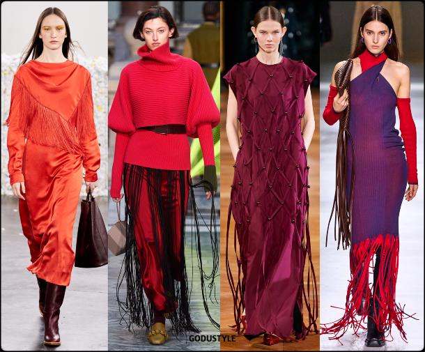 fringe, dress, fall, winter, 2020, 2021, boho chic, trend, body, look, style, details, runway, moda, flecos, vestidos, tendencia, invierno, otoño