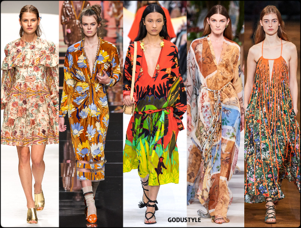 fashion, tropical, jungle, flower, print, spring, summer, 2020, trend, look, style, details, runway, vestidos, moda, tendencia, verano