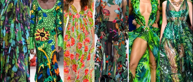 fashion, tropical, jungle, flower, print, spring, summer, 2020, trend, look, runway, street, style, details, shopping, vestidos, moda, tendencia, verano