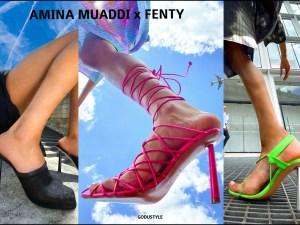 amina muaddi, fashion, shoes, sandals, pumps, slingback, designer, amina muaddi for fenty, fenty, summer 2020, collection, look, street, style, details, celebrities, influencers, shopping, moda, zapatos, verano 2020
