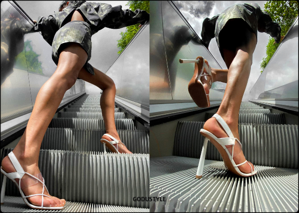 amina muaddi, rihanna, fashion, shoes, sandals, pumps, slingback, designer, amina muaddi for fenty, fenty, summer 2020, collection, look, street, style, details, celebrities, influencers, shopping, moda, zapatos, verano 2020