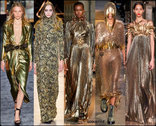 fashion, gold, dress, fall, winter, 2020, 2021, trend, look, style, details, moda, tendencias, otoño, invierno, vestido, dorado