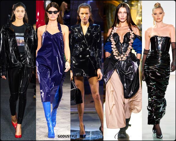 fashion, latex, dress, fall, winter, 2020, 2021, trend, look, style, details, moda, tendencias, otoño, invierno, vestido, pvc