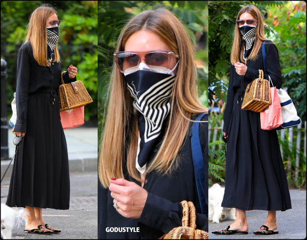 olivia-palermo-fashion-scarf-face-mask-trend-street-style-look-details-august-2020-moda-godustyle