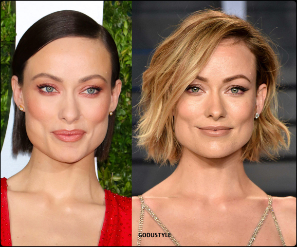 olivia wilde, wavy bob, straight bob, fashion, bob, hairstyle, fall, 2020, winter, 2021, hair, trend, beauty, look, style, details, moda, tendencia, peinado, corte pelo