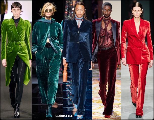 fashion, color, velvet, suit, fall, winter, 2020, 2021, trend, look, style, details, moda, tendencias, otoño, invierno, traje, terciopelo