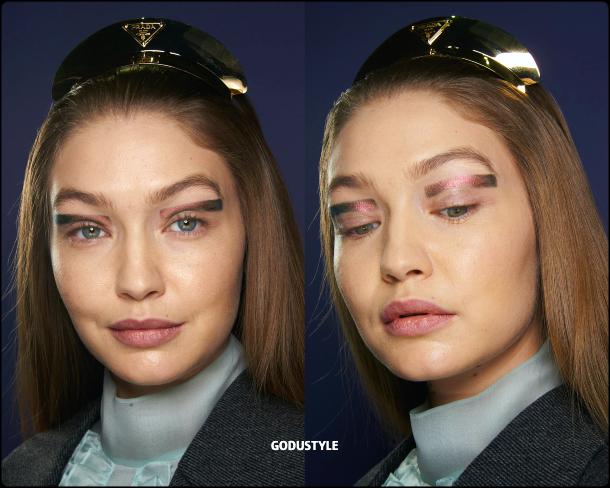 face-jewelry-makeup-trends-prada-fashion-beauty-look2-fall-winter-2020-2021-style-details-moda-maquillaje-godustyle