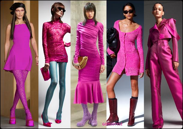 fuchsia-fedora-fashion-color-2021-winter-2022-trend-look-style-details-moda-tendencia-invierno-godustyle  | GODUSTYLE