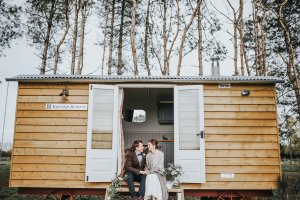 Just the two shepherds hut stay