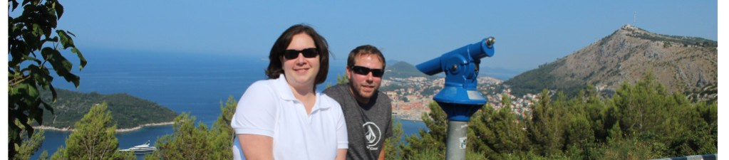 French teacher Mindy Guyer and her husband vacationing in Croatia.