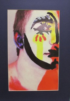 Lily Lile won an Honorable Mention for her artwork