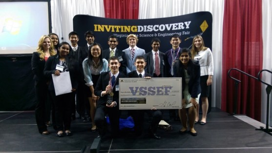 Godwin students who went to VSSEF.