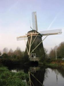 Windmills use to be the basic source of pumping water before