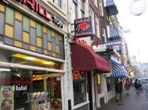Streets in Amsterdam offering all cuisines