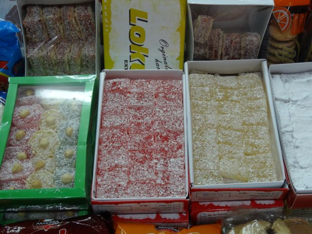 Turkish delight or Lokum