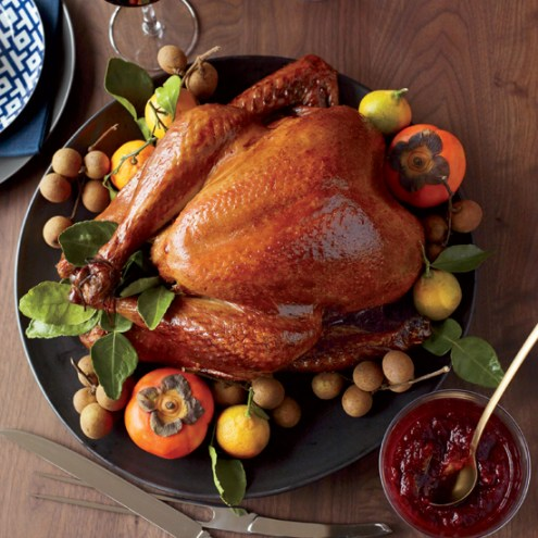 Asian Thanksgiving Turkey. Photo courtesy Food and Wine