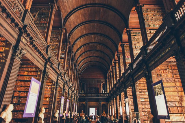 Magnificent Dublin Library