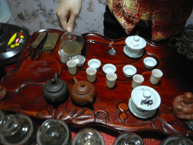 Shanghai tea ceremony