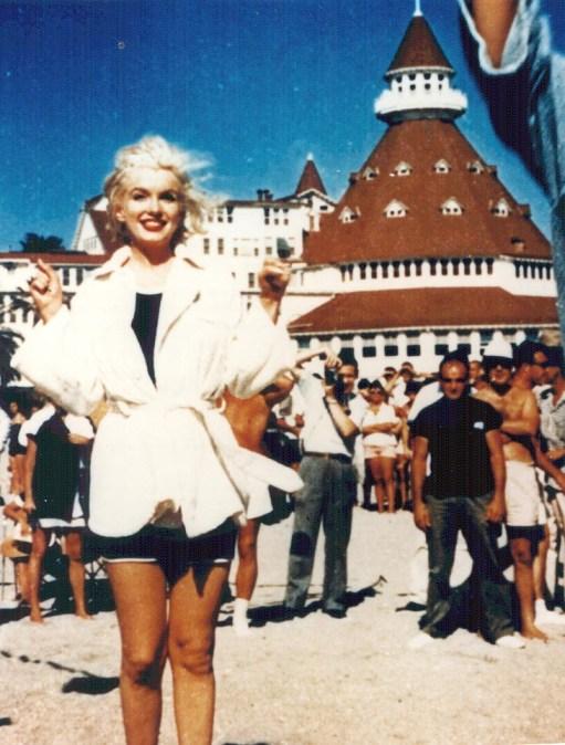 Marilyn Monroe at the Del Coronado
