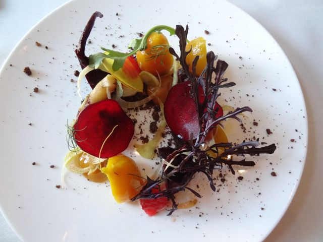 Beet salad at Nine Ten Restaurant La Jolla