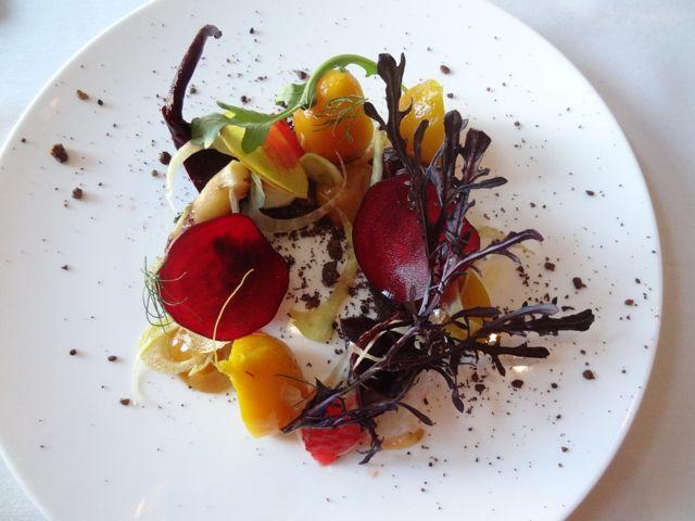 Beet salad at Nine Ten Restaurant La Jolla