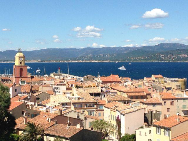 St Tropez skyline