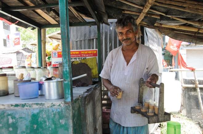 Indian chai in Kolkata