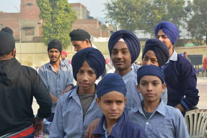 Sikh students