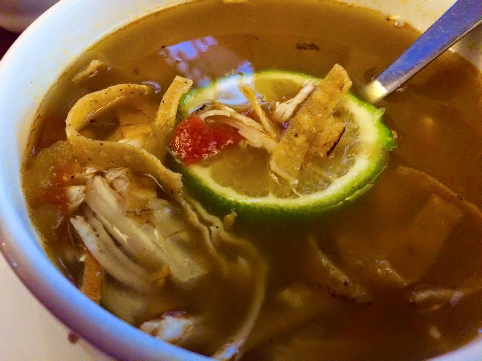Sopa de Lima at Restaurante La Tradicion