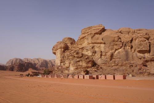 desert camp jordan