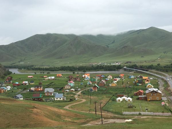 Village in Terelj National Park/ Photo by Amanda Villa-Lobos