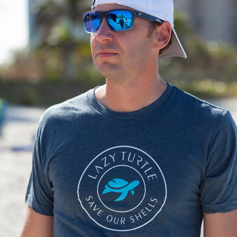 Lazy Sea Turtle Tee, A Gift that Gives Back