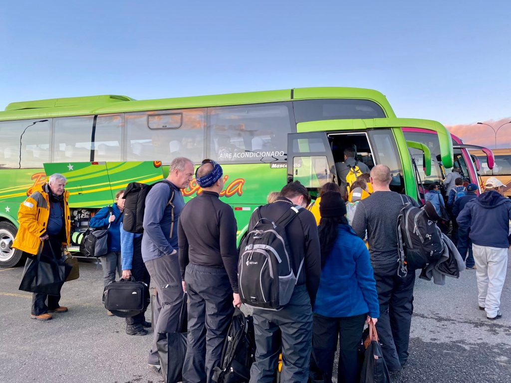 Bus tours in Punta Arenas